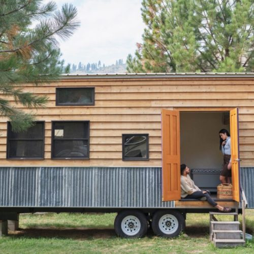 'It feels like an even better decision now': Living in a tiny home